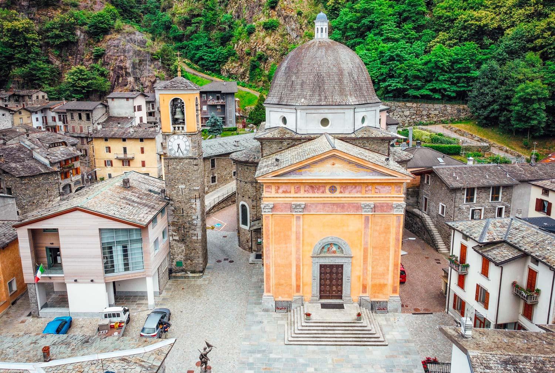 FORCOLA frazione SIRTA - Chiesa Parrocchiale di San Giuseppe