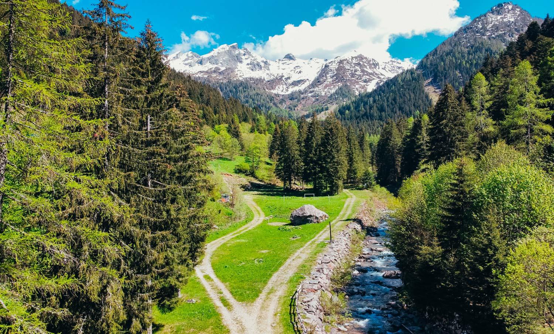 GEROLA ALTA frazione FENILE - Area pic-nic