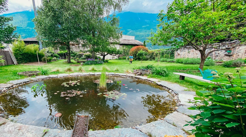 MAZZO DI VALTELLINA - Il giardino segreto